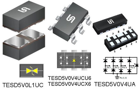 Low Capacitance ESD Protection Device