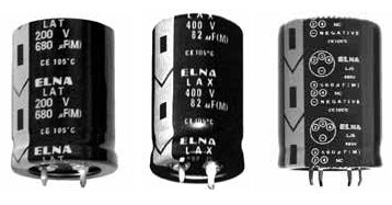 Snap In–Large Capacitance Capacitors